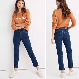 BOGO! Madewell Stovepipe Jeans Vintage Indigo Wash High Rise